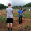 Volunteers Help in the Garden