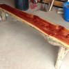 Split Cedar Bench